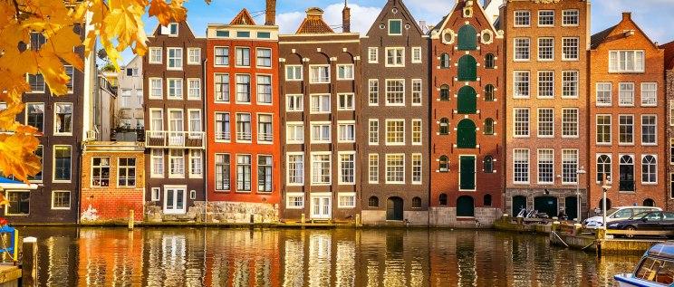 Amsterdam'ın kendine özgü mimarisi