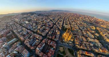 Barcelona'nın ilginç şehir mimarisi