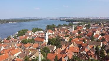 Belgrad'ın kırmızı çatılı evleri