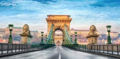 Budapeşte - Zincirli ya da Aslanlı Köprü