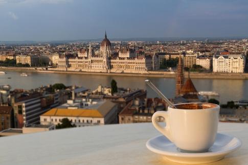 Budapeşte'de kahve?