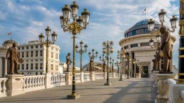 Balkanların en güzel şehri - Üsküp - Makedonya