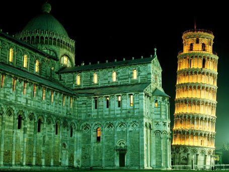 Akşam Pisa - İtalya