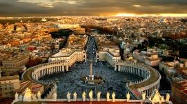 Vatikan Genel görünüm meydan