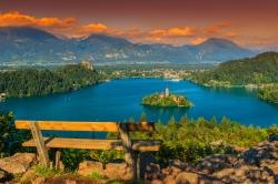 Bled Doğa Harikası Slovenya - Lubiyana