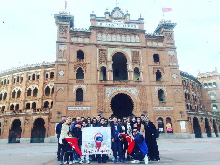 Madrid - Boğa Güreşleri Arenası