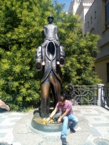 Kafka Anıtı