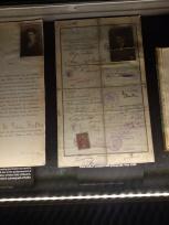 Kafka Müzesinden - Kafka'nın orjinal pasaportu