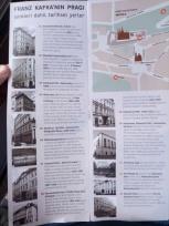 Kafka'nın Şehri Prag haritası
