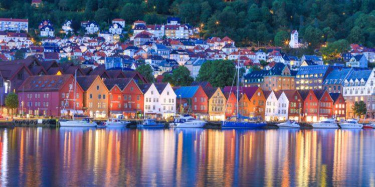 Bergen - Norveç - İskandinav Turu