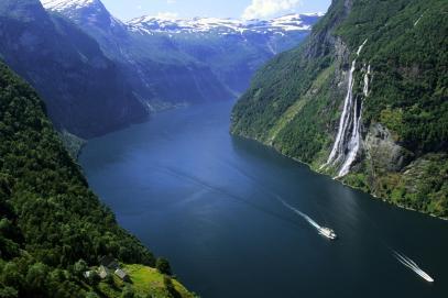 Norveç Fyortları - geiranger_fjord
