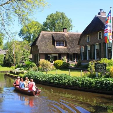 Giethoorn - Kuzey Avrupa Turu