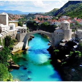 Mostar - Otobüsle İtalya ve Balkan Turu