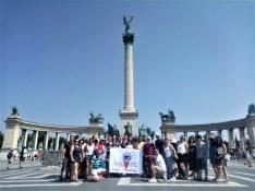 Budapeşte - Kahramanlar Meydanı - Haydi Avrupa'ya